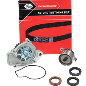 TIMING BELT KIT+WATER PUMP FOR HONDA CRX D16A8 1.6L DOHC 11/1987 TO 5/1992