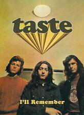 "Taste ""Rory Gallagher"" - I'll Remember (4-CD Boxset) Neu"