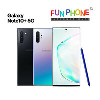 Samsung Galaxy Note10+ Plus 5G 256GB - GSM Unlocked Smartphone in box color
