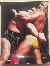 Hulk Hogan Autographed 11x14 Wrestling Photo Tristar Hologram
