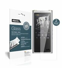 2x Sony nw-zx300 (mp3-Player) película protectora-tanques diapositiva 9h lámina dipos Glass