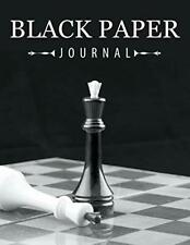 Black Paper Journal by LLC, Speedy  New 9781681278551 Fast Free Shipping,,