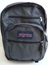 Nwt Jansport Big Student Backpack Book Bag Gray Boys Girls School Pack Sack New