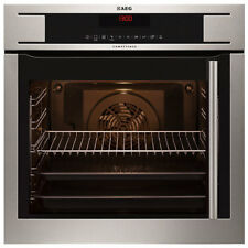 NEW AEG BP871511KM Side Opening Pyroluxe Single Electric Oven