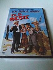 """DVD """"LOS HERMANOS MARX EN EL OESTE"""" PRECINITADO SEALED GROUCHO CHICO HARPO"""