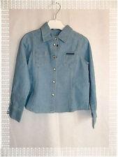 Chemise en Jean Fantaisie Bleu  Modèle Mawest Morning Sun  Ooxoo Taille 4 ans