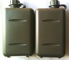 X2 SOUTH AFRICAN 2L MILITARY CANTEEN - O RING SEALED LIDS BPA FREE - TAS