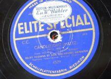 78 rpm JERRY THOMAS ORCH candlelight waltz / dans un coin de mon pays