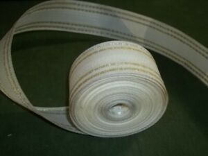 Vintage Lawn Chair Furniture Replacement Webbing 39' White