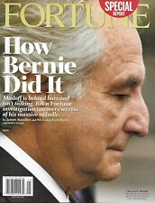 Fortune Magazine Bernie Madoff The Business Guide to Congress Royal Bank 2009