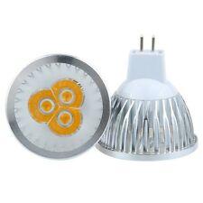 Lot of 4 Led Light mr16 9 Watts replace 20 Watts to 25 Watts warm white