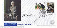 2001 Police Fingerprint Bureau Centenary Cover - Signed by the Artist !