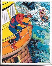 "Amazing Spider-Man Vintage 100 piece 14"" x 18"" jigsaw puzzle Whitman 1983"