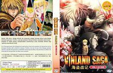 ANIME DVD~Vinland Saga(1-24End)English subtitle&All region FREE SHIPPING+GIFT