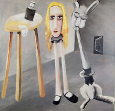 Charles BLACKMAN 'Goodbye Feet'  print modern Australian art ALICE IN WONDERLAND