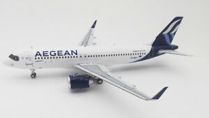 INFLIGHT 200 IF320NA30420 1/200 AEGEAN AIRLINES A320-271N REG: SX-NEO WITH STAND