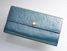 H3180M Authentic Louis Vuitton Vernis Sarah Long Wallet