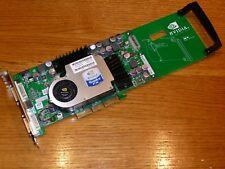 HP nVIDIA QUADRO FX2000 128MB DUAL DVI Graphics Card AGP 326797-001 329259-001