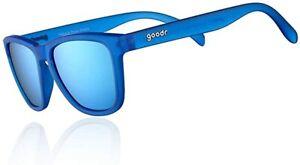 Goodr Unisex Polarised Running Sunglasses - Falkors Fever Dream - Blue