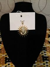 Kendra Scott Large Lion Charm in Gold.  NWT