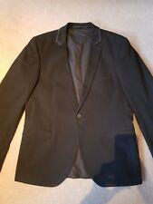 Strellson Premium Blazer para hombre Negro Tamaño S 40 Slim Fitted RRP £ 249