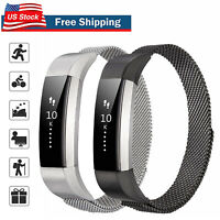 For Fitbit Alta / Alta HR Metal Magnetic Stainless Steel Band Replacement Strap
