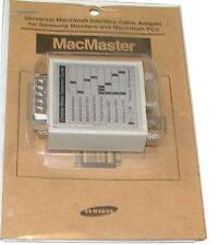NEW SAMSUNG MACMASTER UNIVERSAL MACINTIOSH INTERFACE CABLE ADAPTER