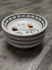 """Set of 4 Cypress Home Dipping Bowls, """"Chef to Go"""" design by Jennifer Garant"""