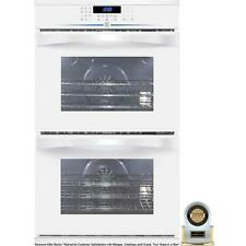 "Kenmore Elite 30""  White Double Convection Wall Oven 48182"