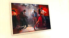 Oil Tango Painting by Willem Haenraets