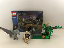 Lego Harry Potter 4750 Draco's Encounter w/Buckbeak 100% Complete  (649-J)