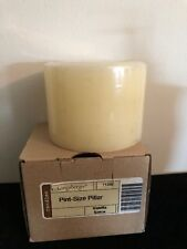 Longaberger Pint Size Pillar Candle - Vanilla Spice - New