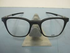OAKLEY mens RX eyeglass frame Steel Line R Satin Black OX8103-0149 New In Box