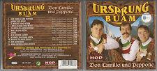 """URSPRUNG BUAM """"Don Camillo und Peppone"""" - CD 2001 Austria """"Heimat der Berge"""""""