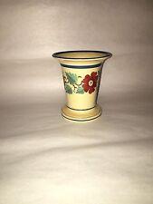 Staffordshire Enamel Decorated Floral Spill Vase Ca. 1820 Rare Form