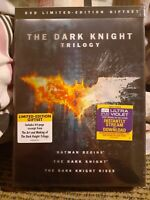 The Dark Knight Trilogy (DVD, 2012, 3-Disc Box Set, Limited Edition Gift Set)