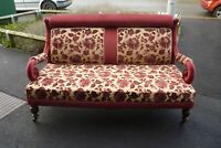 Very Pretty Victorian Two Seater Sofa Matching Armchairs On Another Listing