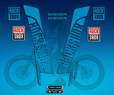 PEGATINAS STICKERS FORK ROCK SHOX BOXXER AM45 AUFKLEBER DECALS  ADESIVI MTB BTT