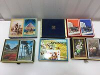Vintage Playing Card Boxes ONLY Double 2 Decks Cards 23949