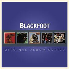 BLACKFOOT ORIGINAL ALBUM SERIES: 5CD ALBUM SET (2013)