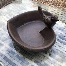 Outdoor Vintage Style Cast Iron Garden Bird Bath, Bird Feeder