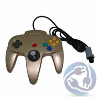 Nintendo 64 N64 Replacement Wired Controller Gamepad - Gold