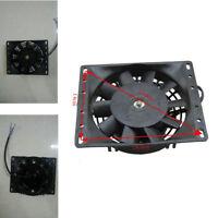 """Black Plastic 6"""" Inch Car Fan Electric Radiator Cooling 12V Mount Kit 10 Blades"""