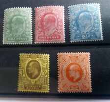 1911 Harrison Definitives Perf. 15x14 Unmounted Mint