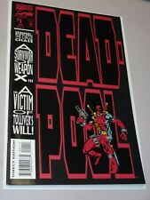 Deadpool: The Circle Chase #1 (1993) NM+ 1st Solo Deadpool Key Issue High Grade