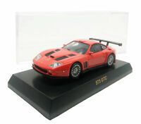 Kyosho Ferrari 575 GTC Red Scale 1/64  with Display Case