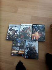 Transformers 5 Movie Collection box set cult action job lot adventure