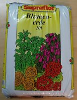 Blumenerde Qualitätserde-10Liter/Grundpreis 0,69€/l Supraflor Erde incl. Versand