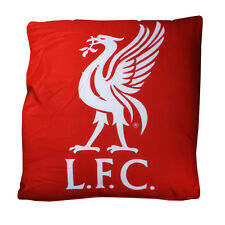 LIVERPOOL FC SQUARE CREST CUSHION PILLOW BEDROOM SOFA CHAIR NEW GIFT XMAS