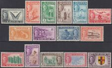 FULL SET Sarawak KGVI 1950 Definitive 1c-$5 MH Stamps SG171-SG185